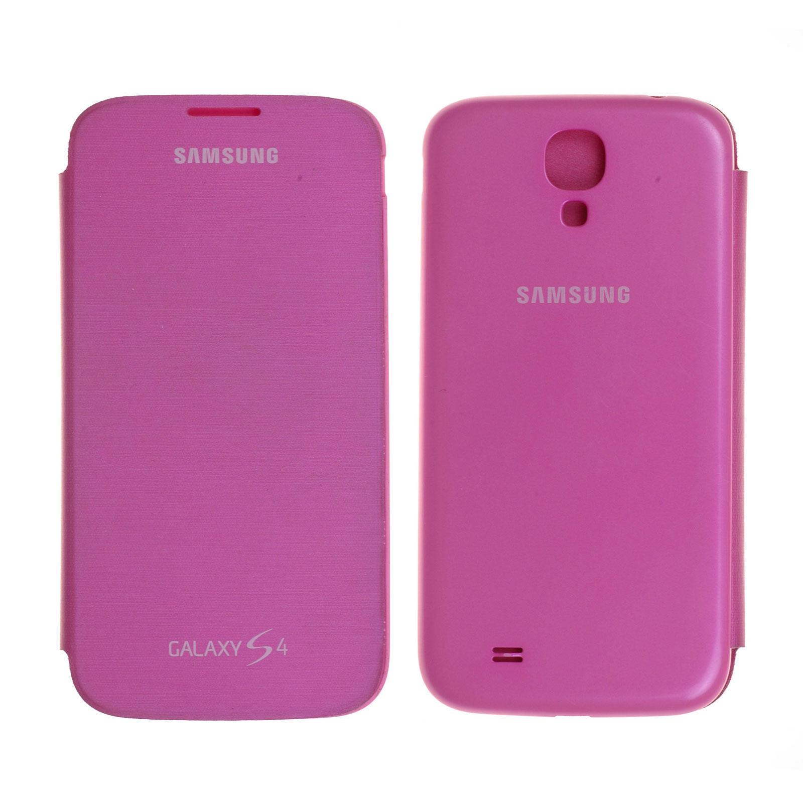 Coque arrière avec rabat d'occasion Samsung Galaxy S4 Advance (i9506) Rose