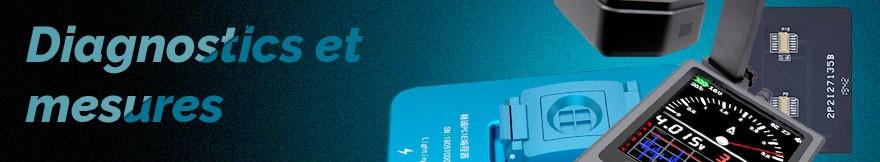 Outils de diagnostics et de mesures pour les téléphones et tablettes Pieces2Mobile Grossiste Fournisseur de pièces détachées de smartphones